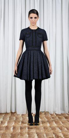 fw dress by miriam ocariz