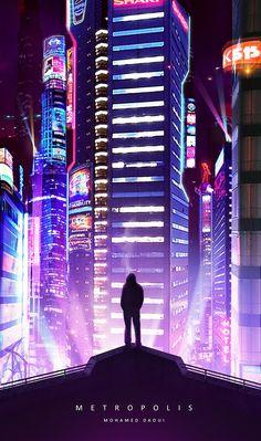 Metropolis by DarknesFreak.deviantart.com on @DeviantArt