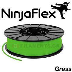 NinjaFlex Flexible Filament for 3D Printing Printers Canada