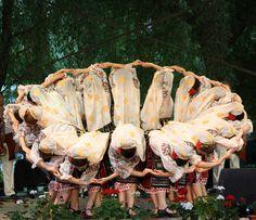 An incredibly beautiful Romanian dance