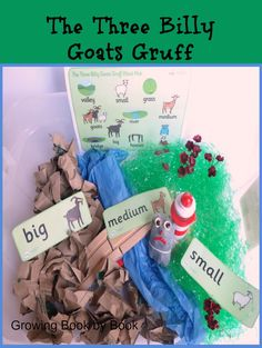 sensory activity for the The Three Billy Goats Gruff