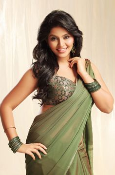 Telugu Actress Anjali Hot in Saree #FoundPix #Anjali #TamilActress