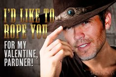 Timothy Olyphant Valentine's Card