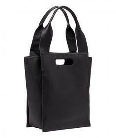 !!!Shopper Tote Hydro Liebeskind Paperbag schwarz Leder Olivia