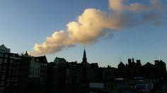 Damrak Amsterdam  Foto gemaakt door Deborah van der Vliet