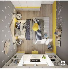 Yellow kids rooms - Yellow Kids' Rooms How To Use & Combine Bright Decor