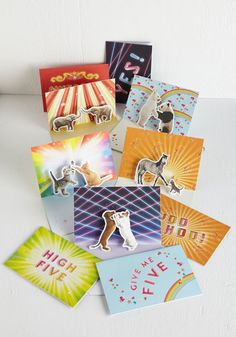 Way to Be! Notecard Set by Chronicle Books - Multi, Quirky, Good, Print with Animals, Critters, Top Rated