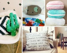 almohadas de bricolaje