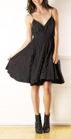 All Saints Black Mini Dress