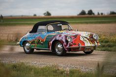 What does celebrity status bring to the value of a car? When said celebrity is rock icon Janis Joplin… about $1.7 million. A rare 1964 Porsche 356 C once owned by Joplin crossed the auction block on Thursday night at RM Sotheby's Driven by Disruption sale, gaveling for a sky-high $1.7 million amid heated