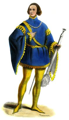 """""""Sergeant at Arms - male costume 14th century"""""""