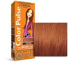 Introducing Color Pulse By Loreal Concentrated Nonpermanent Hair Color Mousse Punchy Brown 4 Ea. Get Your Ladies Products Here and follow us for more updates!