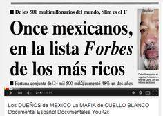 Los DUEÑOS de MEXICO La MAFIA de CUELLO BLANCO Documental