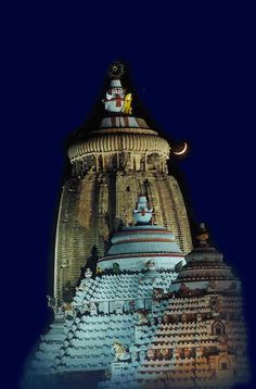"""""""The temple of Jagannath is one of the greatest religious monuments in India. The art and architecture of the temple has been developed with royal patronage, and is a combination of Dravida (South Indian) and Nagara (North Indian) style."""""""