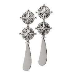 Compass Rose Spreader set of 2 (identical) by Thirtystone.