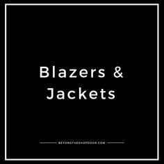 Shop Doors, Blazer Fashion, Blazer Jacket, Passion For Fashion, Lifestyle Blog, Blazers, About Me Blog, Love You, Style Inspiration