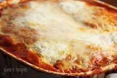 Lighter Eggplant Parmesan Gina's Weight Watcher Recipes Servings: 8 servings • Time: 60 minutes • Old Points: 6 pts • Points+: 8 pts  Calories: 265.3 • Fat: 12.4 g • Protein: 14.1 g • Carb: 35.4 g • Fiber: 4.4 g