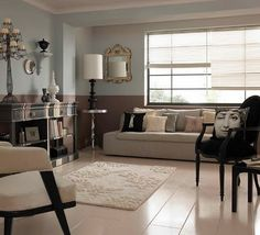 paint ideas on pinterest two tone walls two toned walls and two. Black Bedroom Furniture Sets. Home Design Ideas