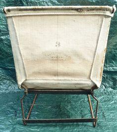 Antique Lane Brothers Manufacturers Ind Parts Basket Loft Cart Poughkeepsie Ny
