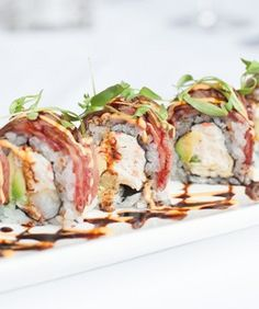 The 10 Most Crazy & Creative Sushi Rolls In S.F. — Chop, Chop! #refinery29