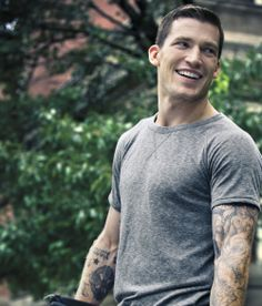 Andrew Ference. Has good teeth for a hockey player.