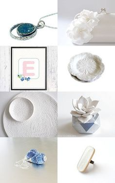 A Touch of Blue by Linda Karen on Etsy--Pinned with TreasuryPin.com