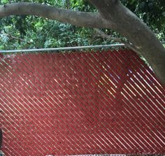 Fence Weave 250 ft. Redwood Fence Slat FW250-R/W at The Home Depot - Mobile