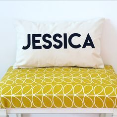 NAME CUSHION