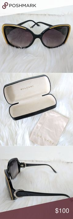 Authentic Bulgari Women's Sunglasses Excellent condition, worn only a few times. Comes with the case and cleaning cloth. Bulgari Accessories Sunglasses