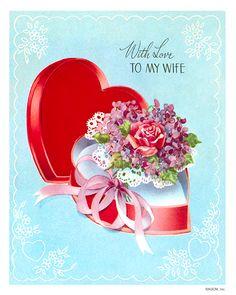 vintage valentine ecards free