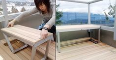 hidden furniture for small spaces