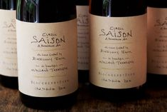 Blackberry Farm's Classic Saison Beer Debuts at Billy Reid - Cool Hunting