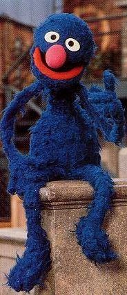 Grover, my favorite Sesame character.  I'm a Sesame Street baby!