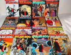 BLOCCO DYLAN DOG SERIE COLLEZIONE BOOK SEQUENZA 122/136  E SUPERBOOK PERFETTI!