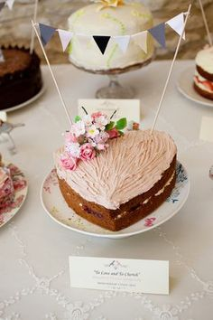 cake for a vintage english afternoon tea