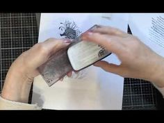 A Lavinia Stamps Tutorial featuring the beautiful Sebastian Seahorse - YouTube