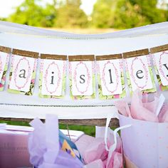 Backyard Baby Shower Ideas backyard baby shower Baby Shower Name Banner Backyard Baby Showersideas