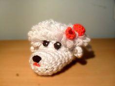 Dog baby booties crochet pattern PDF