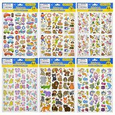 Jot Die-Cut Golden Outline Stickers (Set of 6)