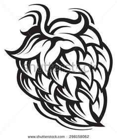 thumb9.shutterstock.com display_pic_with_logo 927415 298158062 stock-vector-hop-cone-298158062.jpg