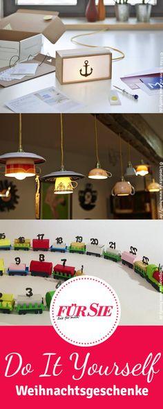 Uhren aus Schallplatten, Kissen aus Kaffeesäcken und Lampen zum Selbermachen. Hier finden Sie unsere Tipps