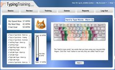 Keyboarding - Learn to Type Faster - Online