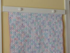 Compression Baby Quilt Or Tapestry Hanger