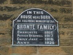 The Bronte Birthplace, Thornton