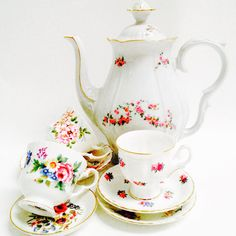Vintage high tea set Country Life