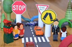 Do you worry about your kids and road safety? Help kids learn about road safety in a fun way with these tips and our free printable road signs.