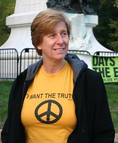 I admire Cindy Sheehan because she is consist with her opposition to the War in Iraq no matter who is waging it. We need more people like Cindy who put their ideals first and politics second.