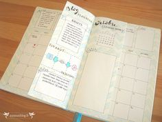 Monthly Log Bullet Journal Septembre #3