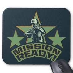 >>>This Deals          Army Sarge: Mission Ready! Mouse Pads           Army Sarge: Mission Ready! Mouse Pads We have the best promotion for you and if you are interested in the related item or need more information reviews from the x customer who are own of them before please follow the link t...Cleck Hot Deals >>> http://www.zazzle.com/army_sarge_mission_ready_mouse_pads-144591903692457541?rf=238627982471231924&zbar=1&tc=terrest