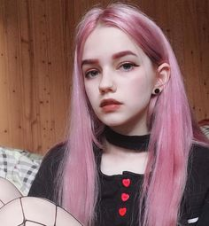 Type: Brazilian Hair, Human Hair Suitable Dying colors: All Colors Texture: Straight and curly Color: Pink Material Grade: Remy Hair Type: Lace Front Wig Wigs Can be permed: yes Remy Human Hair, Human Hair Wigs, Remy Hair, Ulzzang Hair, Chica Cool, Coloured Hair, Womens Wigs, Wig Styles, Pale Skin